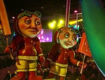 Franz?sischer Karneval von Nizza lizenzfreie stockfotos