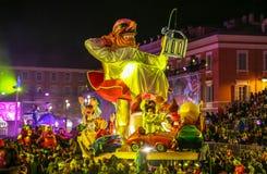 Franz?sischer Karneval von Nizza stockfotografie