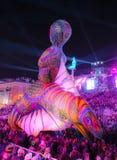 Franz?sischer Karneval von Nizza lizenzfreie stockfotografie