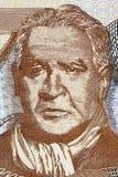 Franz Tamayo een portret royalty-vrije stock afbeelding