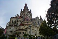 Franz von Assisi Kirche; Kaiser Franz Joseph Jubilaums Kirche in Wenen Royalty-vrije Stock Afbeeldingen