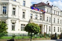 Franzensbad,捷克 免版税库存图片