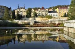Franzensbad Royalty-vrije Stock Foto