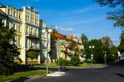 Franzensbad, repubblica Ceca fotografia stock libera da diritti