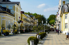 Franzensbad, republika czech Zdjęcia Royalty Free