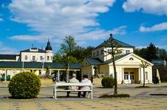 Franzensbad, Tschechische Republik Stockbild
