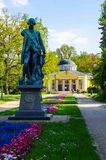 Franzensbad, Tschechische Republik Stockfoto