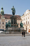 Franzensplatz or Inner Hofburg square in Vienna Royalty Free Stock Photos
