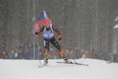 Franziska Hildebrand - biathlon Stock Photos