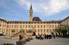 franziskanerkirche salzburg церков францисканское стоковая фотография rf