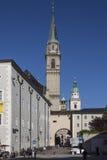 Franziskanerkirche - Salzburg - Oostenrijk Royalty-vrije Stock Foto