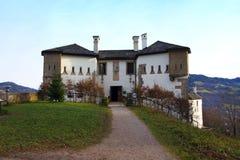 Franziskischlössl på Kapuzinerberg, Salzburg Arkivbilder
