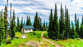 Franziskus Chapel in Sun Peaks, British Columbia, Canada Stock Photography