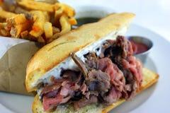 Franzose-Bad-Sandwich Lizenzfreies Stockfoto