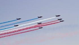 Franzose-Patrouille Stockfotografie