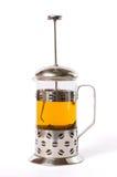 Franzosen bedrängen mit Tee Lizenzfreie Stockbilder