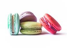 Franzosen Macaron-Plätzchen Lizenzfreie Stockfotos