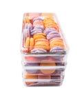 Franzosen Macarons IX Stockbilder