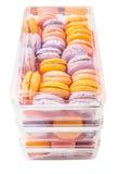 Franzosen Macarons VI Lizenzfreie Stockbilder