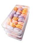 Franzosen Macarons VIII Lizenzfreie Stockfotos