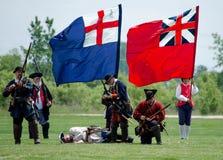 Franzosen und Briten der zeitgenössischen Geschichte Stockbilder