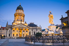 Franzosischer Dom, Gendarmenmarkt, Berlin, Germany Stock Photo
