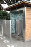 Französische allgemeine Bequemlichkeits-toilette Toilette Lizenzfreies Stockbild