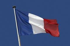 Französische Markierungsfahne Stockbild