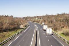 Französischer LKW-Transport Lizenzfreies Stockbild