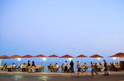Französischer Riviera-Promenade Lizenzfreies Stockbild
