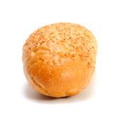 Französisches Brot getrennt auf Weiß Stockbild