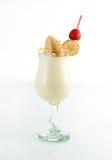Frappè della banana del cocktail Fotografia Stock Libera da Diritti