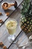 Frappé dell'ananas Fotografia Stock Libera da Diritti