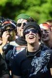 Frappadingue race, dressed man Royalty Free Stock Photo