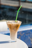 Frappe coffee Stock Photo