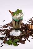 Frappe coffee royalty free stock photos