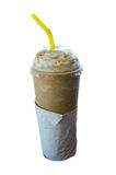 Frappe Ice Coffee Royalty Free Stock Photos