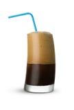 Frappe kaffe Arkivbild