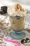 Frappuccino con i biscotti di Oreo Immagine Stock