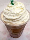 Frappuccino With Whip Stock Photos