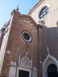 Frari Basilica in Venice Royalty Free Stock Images