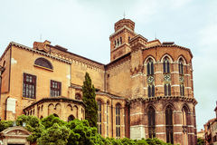 Frari Church in Venice, Italy Stock Photo