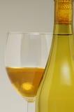 Frasco & vidro de vinho Foto de Stock