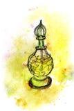 Frasco bonito do perfume Imagem de Stock Royalty Free