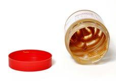 Frasco da manteiga de amendoim Fotos de Stock Royalty Free