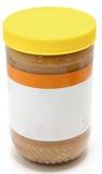 Frasco da manteiga de amendoim Crunchy Imagem de Stock Royalty Free