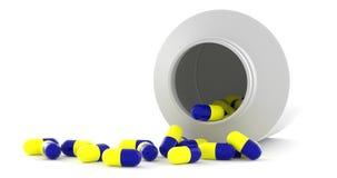 Frasco da medicina Imagem de Stock