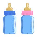 Frasco de bebê ilustração do vetor