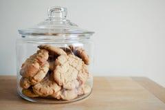 Frasco de biscoito Imagens de Stock