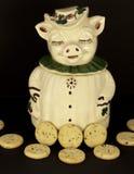 Frasco de biscoito Foto de Stock Royalty Free